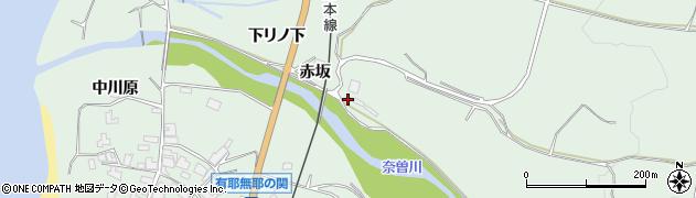 秋田県にかほ市象潟町関殿袋10周辺の地図