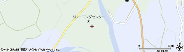 秋田県由利本荘市鳥海町伏見(折切)周辺の地図