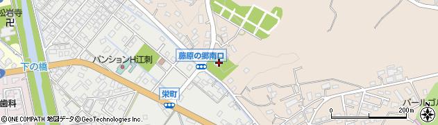 蓮久寺周辺の地図