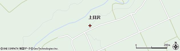 秋田県由利本荘市鳥海町伏見(上貝沢)周辺の地図