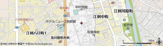 岩手県奥州市江刺南大通り周辺の地図