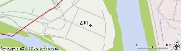 岩手県奥州市水沢佐倉河(古川)周辺の地図