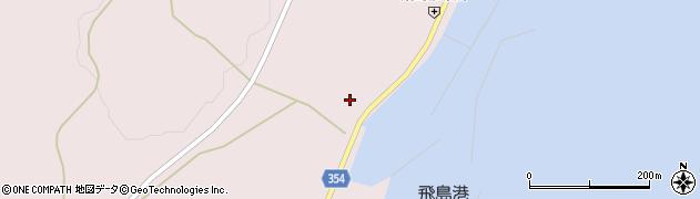 山形県酒田市飛島勝浦甲12周辺の地図