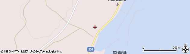 山形県酒田市飛島勝浦甲13周辺の地図