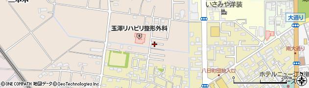 岩手県奥州市江刺岩谷堂周辺の地図