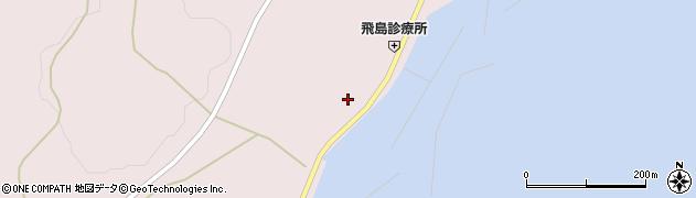 山形県酒田市飛島勝浦甲32周辺の地図