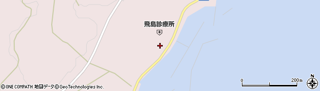 山形県酒田市飛島勝浦甲44周辺の地図