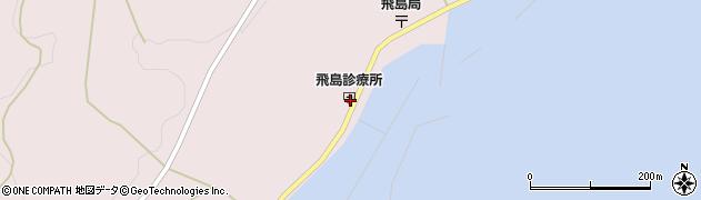 山形県酒田市飛島勝浦甲66周辺の地図