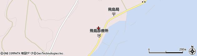 山形県酒田市飛島勝浦甲72周辺の地図