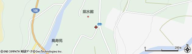 秋田県由利本荘市鳥海町伏見(久保)周辺の地図