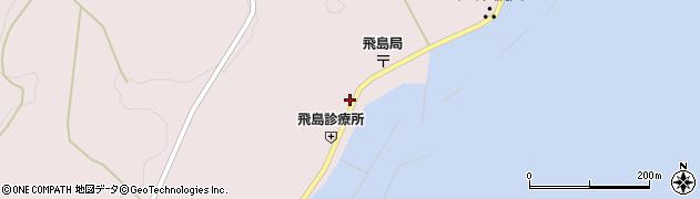 山形県酒田市飛島勝浦甲73周辺の地図