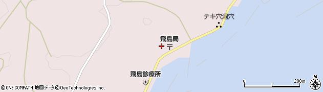 山形県酒田市飛島勝浦甲89周辺の地図