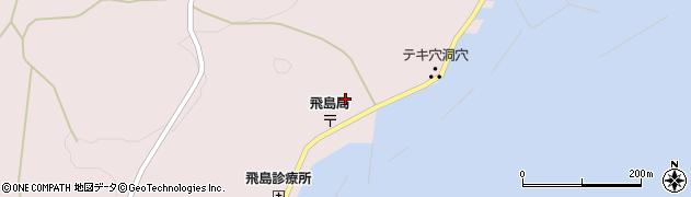 山形県酒田市飛島勝浦甲104周辺の地図