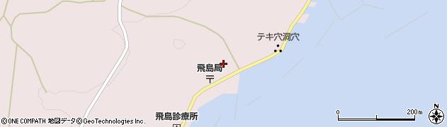 山形県酒田市飛島勝浦甲105周辺の地図