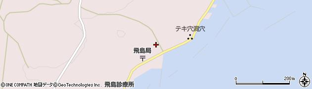 山形県酒田市飛島勝浦甲109周辺の地図