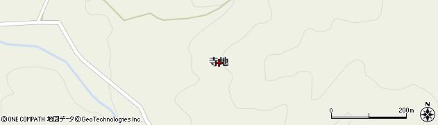 岩手県奥州市江刺伊手(寺地)周辺の地図