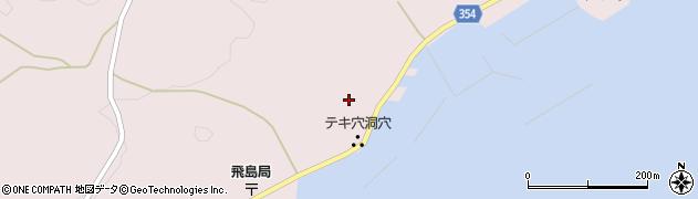 山形県酒田市飛島中村甲6周辺の地図