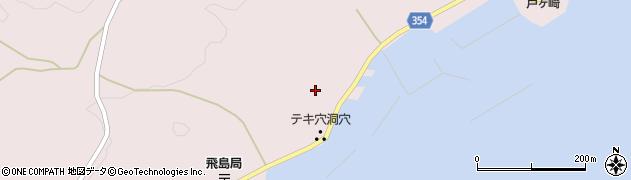 山形県酒田市飛島中村甲12周辺の地図