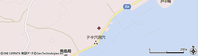 山形県酒田市飛島中村甲19周辺の地図