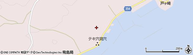 山形県酒田市飛島中村甲14周辺の地図