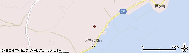 山形県酒田市飛島中村甲30周辺の地図