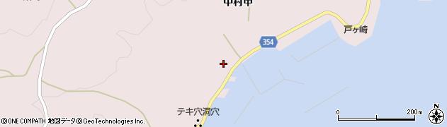 山形県酒田市飛島中村甲46周辺の地図