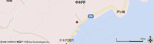 山形県酒田市飛島中村甲48周辺の地図