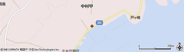 山形県酒田市飛島中村甲57周辺の地図