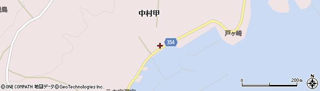 山形県酒田市飛島中村甲59周辺の地図