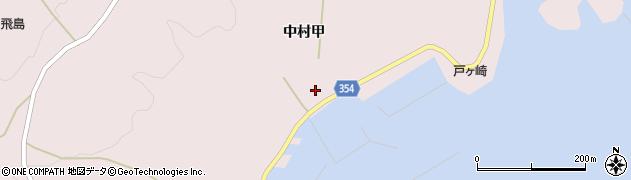 山形県酒田市飛島中村甲55周辺の地図