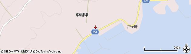 山形県酒田市飛島中村甲66周辺の地図