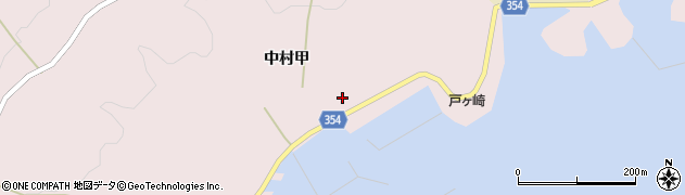 山形県酒田市飛島中村甲67周辺の地図