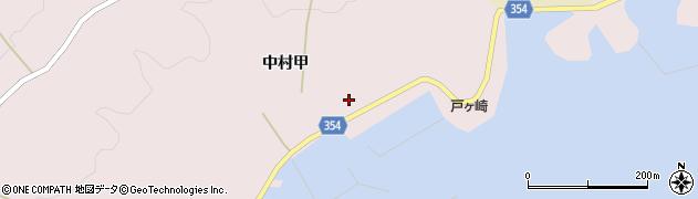 山形県酒田市飛島中村甲70周辺の地図