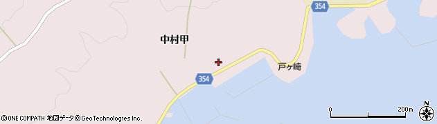 山形県酒田市飛島中村甲72周辺の地図