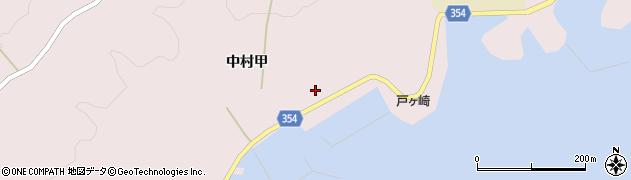 山形県酒田市飛島中村甲75周辺の地図
