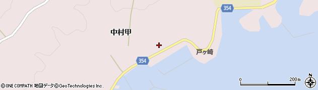 山形県酒田市飛島中村甲79周辺の地図