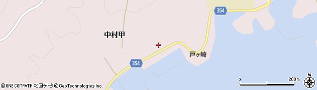 山形県酒田市飛島中村甲83周辺の地図
