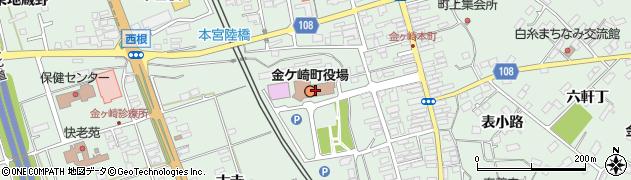 岩手県胆沢郡金ケ崎町周辺の地図
