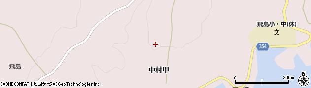 山形県酒田市飛島中村甲178周辺の地図