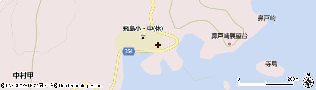 山形県酒田市飛島中村甲283周辺の地図