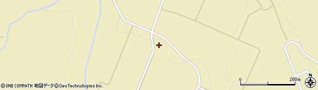 秋田県由利本荘市鳥海町下川内(大倉)周辺の地図