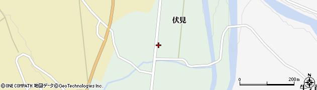 秋田県由利本荘市鳥海町伏見(伏見)周辺の地図