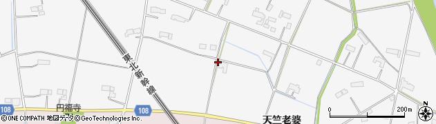 岩手県奥州市江刺稲瀬(天竺老婆)周辺の地図