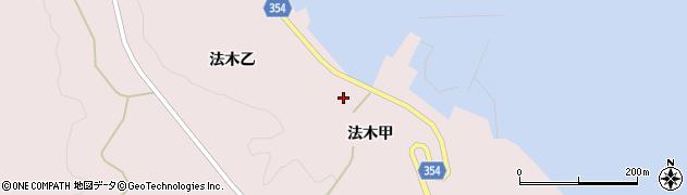 山形県酒田市飛島法木乙194周辺の地図