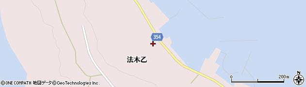 山形県酒田市飛島法木乙230周辺の地図