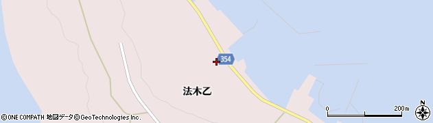 山形県酒田市飛島法木乙237周辺の地図