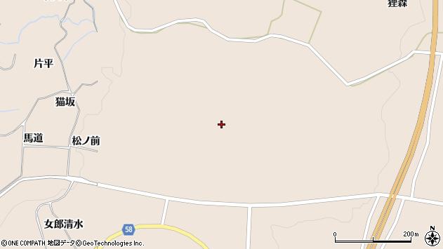 〒018-0166 秋田県にかほ市象潟町高田の地図