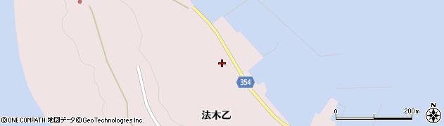 山形県酒田市飛島法木乙249周辺の地図