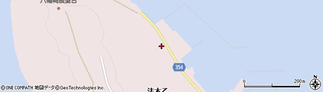 山形県酒田市飛島法木乙253周辺の地図