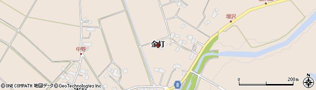岩手県奥州市江刺岩谷堂(金打)周辺の地図
